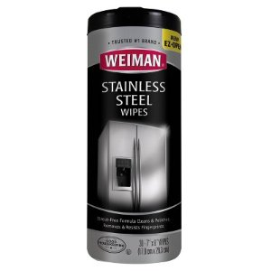 Weiman Stainless Steel Wipes - 30ct : Target
