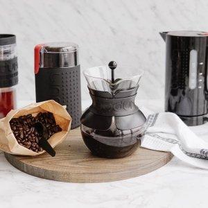 现价$59.99(原价$129.99)Bodum 咖啡4件套 在家享受现磨咖啡豆的醇香浓郁