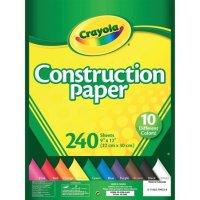 Crayola 彩色手工纸  9in x 12in