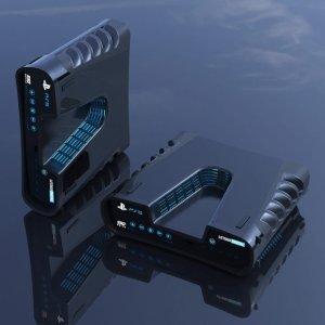 是在纪念逝去的V酱吗【8/23】索尼 PS5 长这样?外媒晒 PS5 开发机渲染图