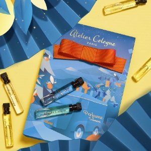 限时7折 €16.7收封面7支套装Atelier Cologne 欧珑香水 周杰伦同款小清新 冬日「气味电台」