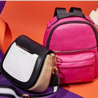 低至5折 收彩色肩带相机包啦Marc Jacobs 精选美包,配饰等热卖