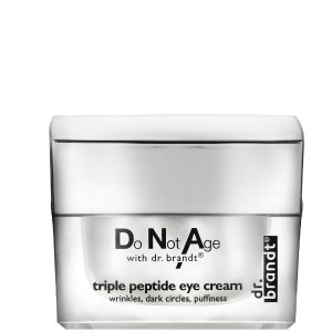 DR.brantDoNotAge with drbrandt triple peptide 眼霜