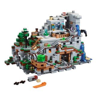 低至5.7折 多款史低价史低价:LEGO Minecraft 乐高 我的世界系列拼插玩具特卖