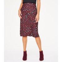LOFT Outlet 豹纹半身裙