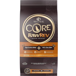 $40.84Wellness CORE RawRev Grain-Free Original Recipe with Freeze-Dried Turkey Dry Dog Food