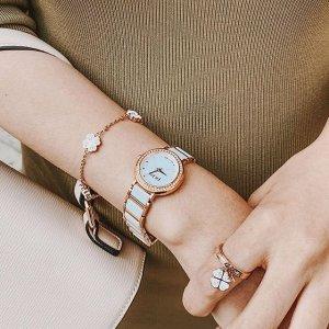 低至6折 收刘诗诗同款Folli Follie少女风轻奢手表、首饰热卖