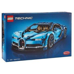 史低价:LEGO Technic 42083 布加迪 Chiron 6.7折特价 史低价回归