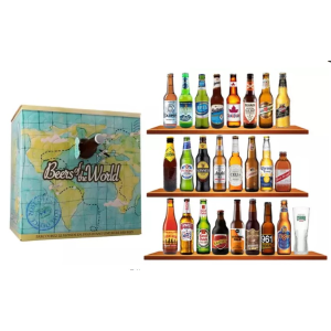 现价€44.9(原价€74.9)来自世界各地的啤酒一次喝个遍 一箱24瓶 夏天一起喝酒撸串吧