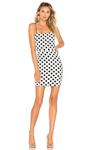 About Us WILLA POLKA DOT DRESS  | REVOLVE