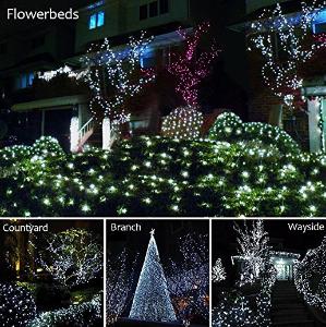 solarmks outdoor string lights solar christmas lights 77 ft 8 modes 220 led fairy lights outdoor