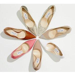 5折起+额外7.5折 低至$289独家:Jimmy Choo 美鞋专场 招牌亮片鞋仅$396