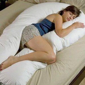 29折 £12就入 还你个好睡眠巨型U型抱枕  睡觉随你骑 生活已经很苦B枕头才能好好陪伴你