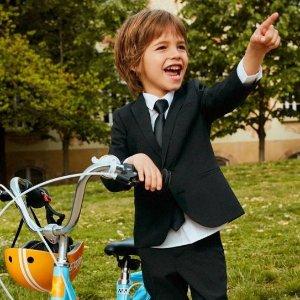 限时额外8折 $2.39起H&M官网 童装折扣区折上折 低价收可爱万圣节套装