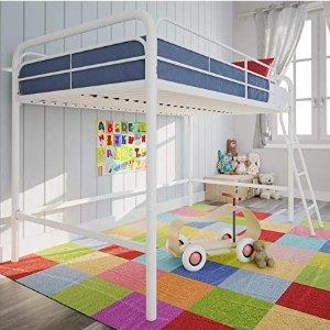 $96.27(原价$133.26)起DHP 金属框架儿童床,带梯子