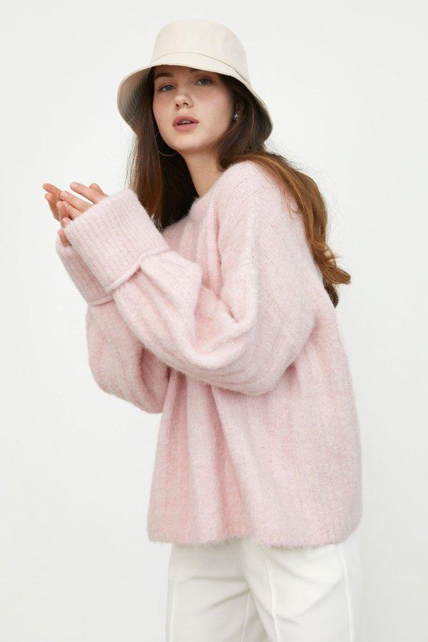 Cozy Light Pink 毛衣