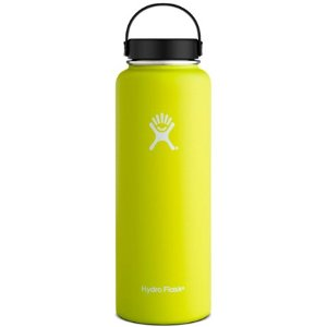 $21Hydro Flask Wide-Mouth Vacuum Water Bottle 40 fl. oz. (Yellow)