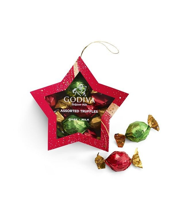 节日星星挂饰巧克力礼盒