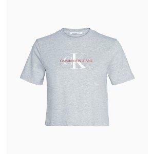 Calvin Klein JeansJennie同款不同色LogoT恤