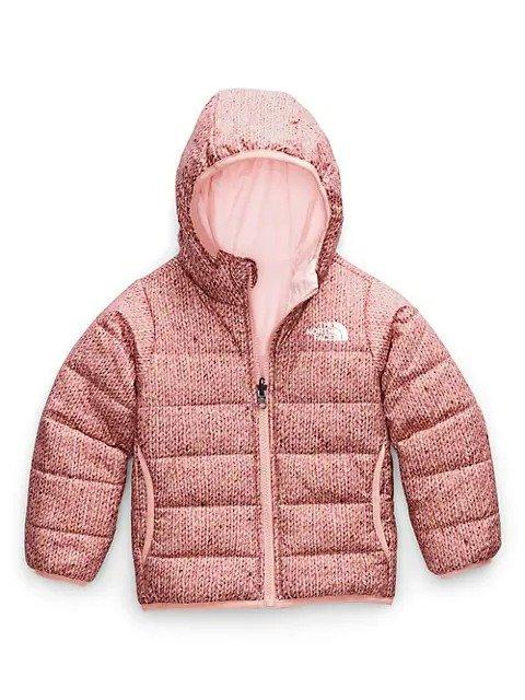女大童保暖外套,尺码:14-16 双面可穿