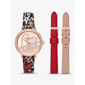 Michael Kors爱心手表