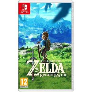 Nintendo随时补货塞尔达传说 旷野之息