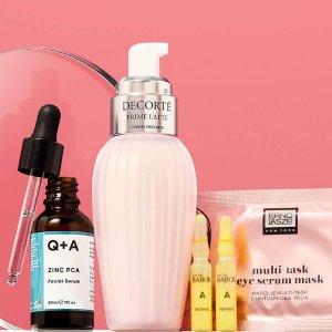 低至5折Skinstore 夏末护肤大促 收SLIP丝质口罩