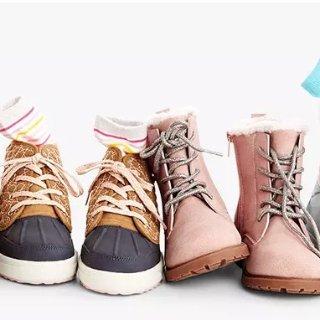 变相5折 有0-14岁儿童码折扣升级:OshKosh BGosh  新款童鞋等买1送1