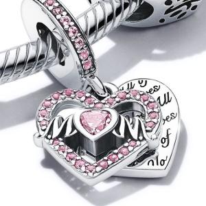 2件8折 3件7折母亲节礼物:Pandora 大促 串饰、耳钉、戒指等超低价收
