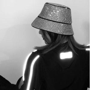 Kara回头率神器水钻渔夫帽