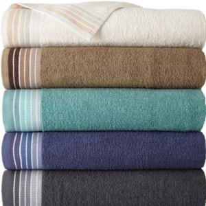 $2.99 $10 off $25Home Expressions Ombre Stripe Bath Towels