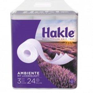 20卷€5.99 仅€0.3/卷 4层超厚!Hakle 厕所卷纸 3层/4层任你选 消耗品好价囤货 下单送到家门口