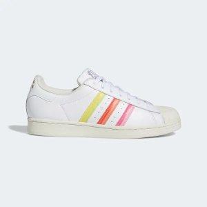 Adidas彩虹色贝壳鞋