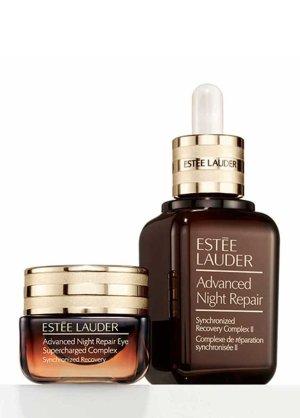 Estee Lauder 小棕瓶精华+眼霜