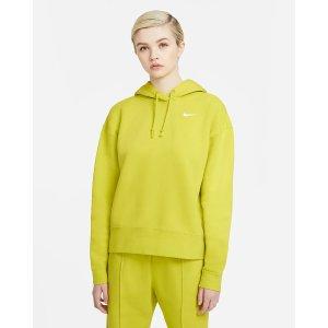 Nike荧光绿卫衣