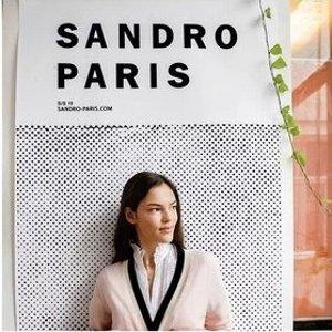 2折起+叠8.5折 £52收衬衫裙折扣升级:Sandro Paris 法式美衣降价 解锁经典优雅风 冰点价勿错过