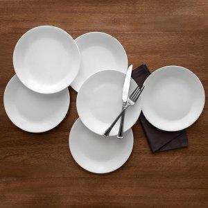 Corelle 康宁8.5寸餐盘 6个 轻质不易碎
