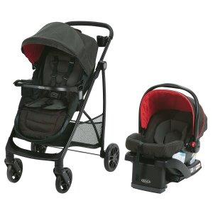 $250 (原价$490.33)Graco 婴儿推车 + 汽车安全座椅套装