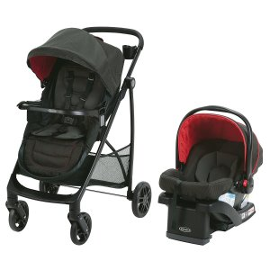 $250 (原价$490.33)史低价:Graco 婴儿推车 + 汽车安全座椅套装
