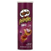 Pringles BBQ口味薯片 5.26盎司 三罐