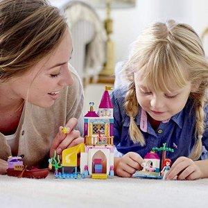 $16.99史低价:LEGO Disney 系列 小美人鱼爱丽儿的海边城堡41160