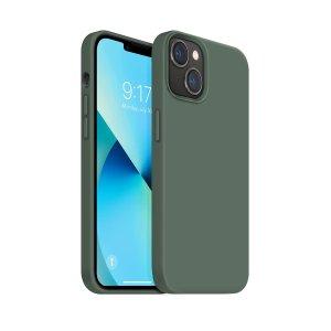 OUXUL iPhone 13 mini 液态硅胶橡胶手机壳