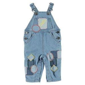 Stella Mccartney Kids婴儿牛仔背带裤