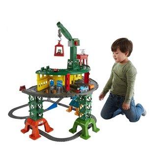 $49(原价$99.99)史低价:Fisher-Price 托马斯和他的朋友们超级火车+轨道套装