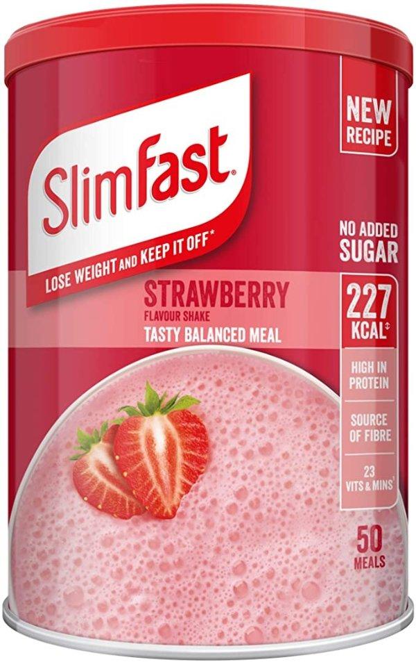 高蛋白粉代餐膳食补充剂 草莓味