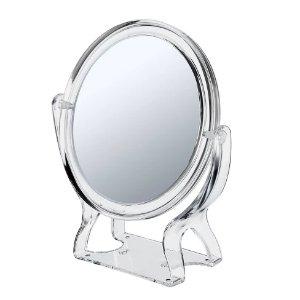 $2.9白菜价:Conair 双面 3x 圆形桌面化妆镜