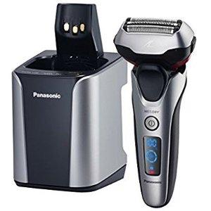 $98.02 (原价$199.99)Panasonic ES-LT7N-S 干湿两用高级剃须刀+清洁充电桶