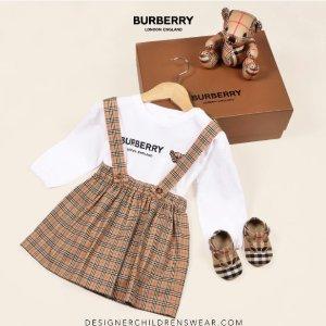 £140起收格纹短裙、百褶裙Burberry 大童区全面登陆 爆款格纹短裙补货 最大14Y!
