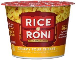 $7.53 一餐仅需$0.63Quaker Rice a Roni Cups 起司杯 2.25 Ounce 12杯
