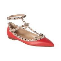 Valentino 铆钉芭蕾鞋